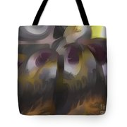 Tropical Wind Pastel Abstract Tote Bag
