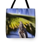 Tropical Woodpecker Tote Bag