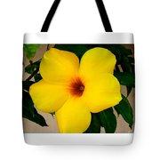Tropical Yellow Blossom Tote Bag