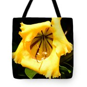 Tropical Yellow Tote Bag