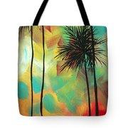 Tropics By Madart Tote Bag