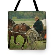 Trot On Tote Bag