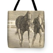 Trot Out Drawn Tote Bag