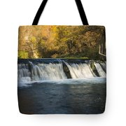 Trout Run Creek Dam 2 Tote Bag