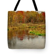 Trout Stream II- Textured Tote Bag