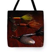 Trout Temptation Tote Bag