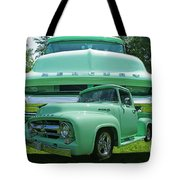 Truck In Grill Tote Bag