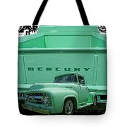 Truck In Tailgate-hdr Tote Bag