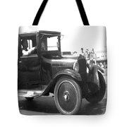 Truck Vintage Tote Bag