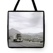 Trucking Across America Tote Bag