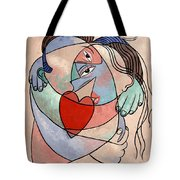 True Love When Two Become One Tote Bag