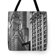 Trump And Wrigley In Harmony Tote Bag