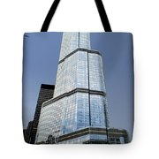 Trump Tower Facade 3 Letter Signage Tote Bag