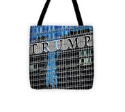Trump Tower Marquee Tote Bag