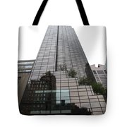 Trump Tower Reflection New York Tote Bag