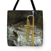 Trumpet N Canvas Tote Bag