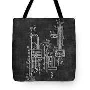 Trumpet Patent Tote Bag