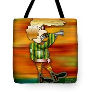 Trumpet Player Tote Bag