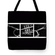 Trumpet Triptych Tote Bag
