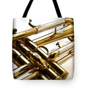 Trumpet Valves Tote Bag