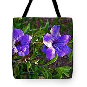 Trumpet Vine In Apache Junction-arizona   Tote Bag