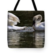 Trumpeter Song Tote Bag