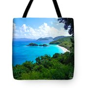 Trunk Bay Tote Bag