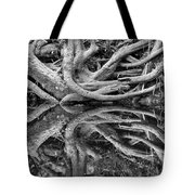 Trunks On The River Bank Tote Bag