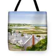 Truro Summer Cottages Tote Bag by Michelle Wiarda