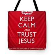 Trust Jesus 01 Tote Bag by Rick Piper Photography