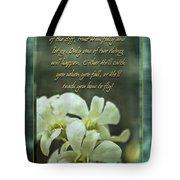 Trusting God Tote Bag