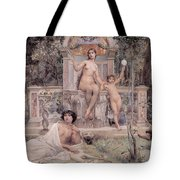 Truth Tote Bag by Luc Olivier Merson