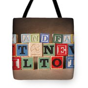 Try And Fail But Never Fail To Try Tote Bag