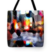 Tsquare Water Colors Tote Bag