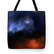 Tsunami Abstract Tote Bag