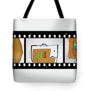 Tsunami Strip Tote Bag