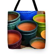 Tubac Pottery 2 Tote Bag