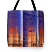 Tubular Sunset Tote Bag