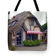 Tuck Box Tearoom - Carmel California Tote Bag