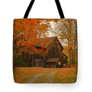 Tucked In The Trees Tote Bag