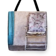 Tucson Front Porch Painterly Effect Tote Bag