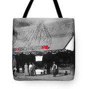 Tucson Gas And Electric Company In Tucson C. 1913 The Year Villa Visited Tucson -2010 Tote Bag