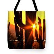Tucson Sunset Tote Bag