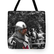 Tudor Knight In Armor  V1 Tote Bag