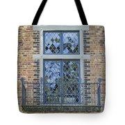 Tudor Style Windows With Balcony Tote Bag