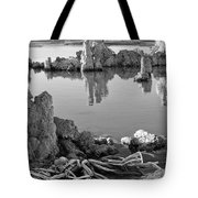 Tufa In Black And White Tote Bag