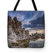 Tufas And Clouds Tote Bag