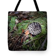 Tufted Mushroom Showing Tote Bag