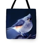 Tufty The Titmouse Tote Bag
