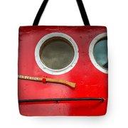 Tug Boat Eyes Tote Bag